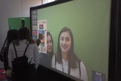 Digital Graffiti Wall & Photobooth mit Greenscreen
