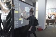 digital graffiti photobooth |digitale graffiti wand brand berlin galerie243